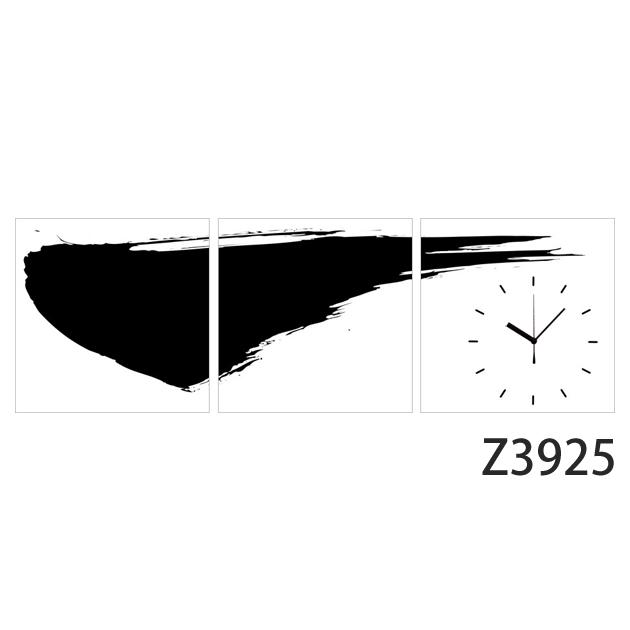 壁掛け時計 日本初!300種類以上のデザインから選ぶパネルクロック◆3枚のアートパネルの壁掛け時計◆hOur Design Z3925【アジア】【代引不可】 送料無料