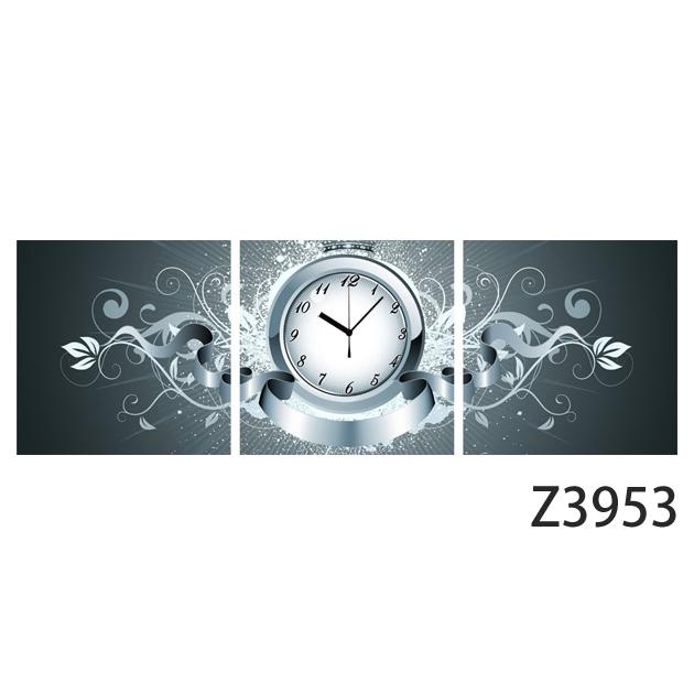 壁掛け時計 日本初!300種類以上のデザインから選ぶパネルクロック◆3枚のアートパネルの壁掛け時計◆hOur Design Z3953【イラスト】【代引不可】 送料無料