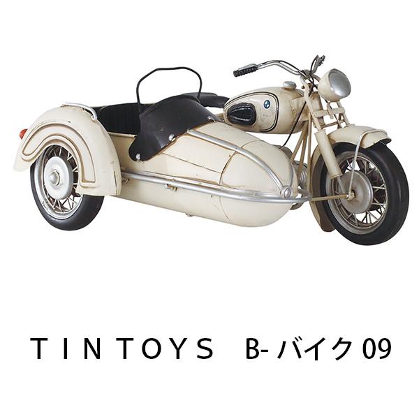 TIN TOYS B-バイク09 幅29cm ミニカー 車 おもちゃ mini インテリア小物 雑貨 置物 アンティーク