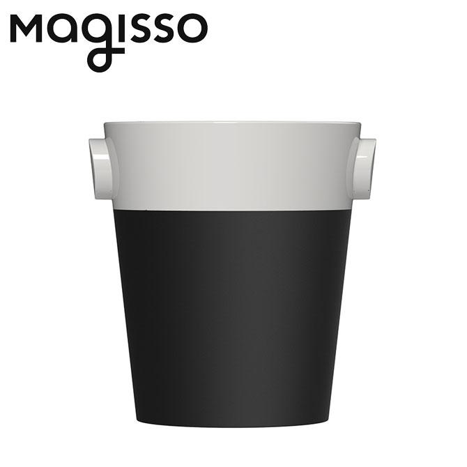 北欧デザイン雑貨 magisso シャンパンクーラー ホワイトライン 冷却機能 陶磁器 セラミック モノクローム シャンパン用品 シャンパングッズ キッチンインテリア シンプル 北欧デザイン