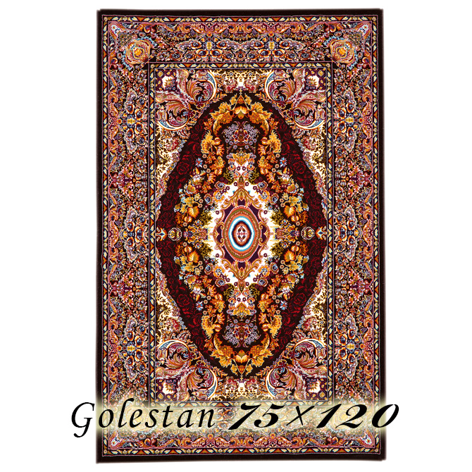 ラグ カーペット コール 75×120cm イラン製 ウィルトン織 高級 絨毯 厚手 【送料無料】【代引不可】