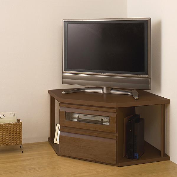 テレビ台 コーナータイプ ダークブラウン TE-0027 天然木製 アルダーコーナーTVユニットシリーズ/同じシリーズのテレビボードと組み合わせできます。 TV台 テレビ台 テレビボード AV台 AVボード ユニット家具 連結 完成品 日本製 国産[byおすすめ]【送料無料】 北欧 テレビ台