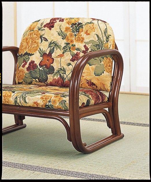 \ポイント10倍★8/15・16限定★/ 座椅子 立ち座りが楽なゆったり広さの座椅子 籐思いやり座椅子ロータイプ イス・チェア 籐製 座椅子 座イス 座いす 椅子 いす イス チェア チェアー 姿勢 腰痛 コンパクト 北欧 シンプル クッション 座布団
