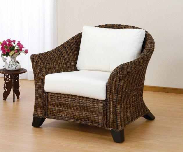 座椅子 心地よいアジアンブリーズに身をまかせ心やすらぐ空間。まるで南国リゾートにいるかのようなリラックスしたくつろぎをあなたに。 アームチェアー イス・チェア 座椅子 籐製 送料無料 敬老の日 母の日 父の日 ギフト プレゼント 座椅子 座いす 座イス チェア チェアー