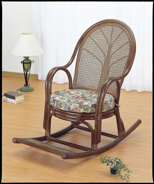 座椅子 心が和む籐製ロッキングチェアー ロッキングチェアー イス・チェア 座椅子 送料無料 座椅子 座イス 座いす 椅子 いす イス チェア チェアー 姿勢 腰痛 コンパクト 北欧 シンプル クッション 座布団 リラックスチェアー リビング フロアチェア フロアチェアー 一人掛け
