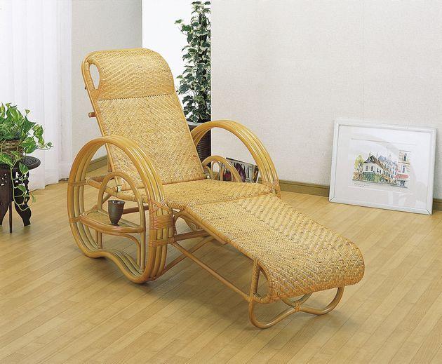 座椅子 高級仕上げの総あじろ編みで、足を伸ばしてくつろげるラクチン座椅子。 三ツ折寝椅子 イス・チェア 籐製 送料無料 座椅子 座イス 座いす 椅子 いす イス チェア チェアー 姿勢 腰痛 コンパクト 北欧 シンプル クッション 座布団 リラックスチェアー リビング