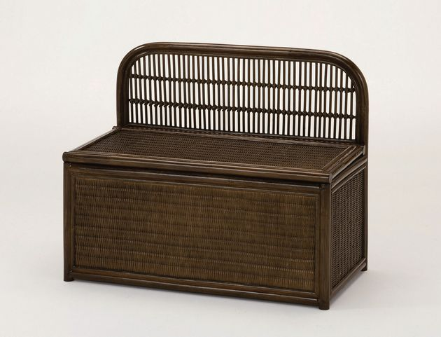 座椅子 座面を持ち上げれば、中はたっぷりの収納スペース ベンチボックス イス・チェア 座椅子 籐製 送料無料 座椅子 座イス 座いす 椅子 いす イス チェア チェアー 姿勢 腰痛 コンパクト 北欧 シンプル クッション 座布団 リラックスチェアー リビング 一人掛け 1人掛け