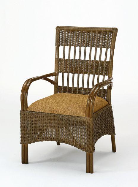 \ポイント10倍★8/15・16限定★/ 座椅子 モダンでシックなダークブラウンカラーの籐ダイニングチェアーです。 ダイニングチェアー イス・チェア 座椅子 籐製 送料無料 敬老の日 母の日 父の日 ギフト プレゼント 座椅子 座いす 座イス チェア