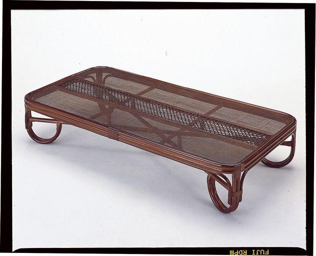 座椅子 籐の座卓と座椅子で、リビングを涼しく演出。 座卓180cm テーブル 座卓 リビングテーブル ガラス天板 籐製 ラタン 送料無料 敬老の日 母の日 父の日 ギフト プレゼント 座椅子 座いす 座イス チェア チェアー フロアチェア フロアチェアー