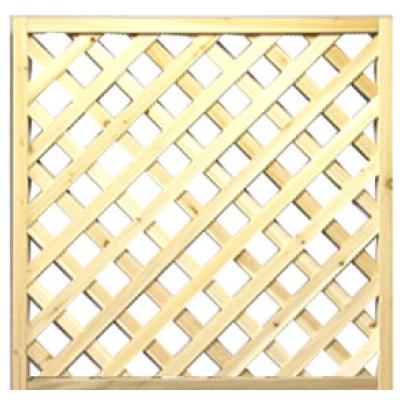 無着色格子ラティス 900×900mm ラティス 目隠し フェンス 園芸 ガーデニング 無着色 天然木 格子 2枚セット