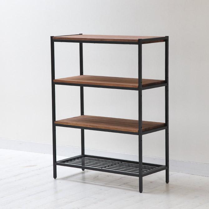 i-office1: 4-shelf iron black iron frame x oil finish Astro Boy ...
