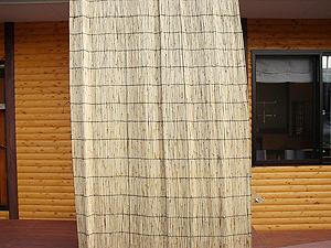 / 2本セット よしず10尺×6尺(高さ300cm幅180cm)簾 たてず たてすだれ 日よけ 節電[fs01gm]【RCP】【HLS_DU】