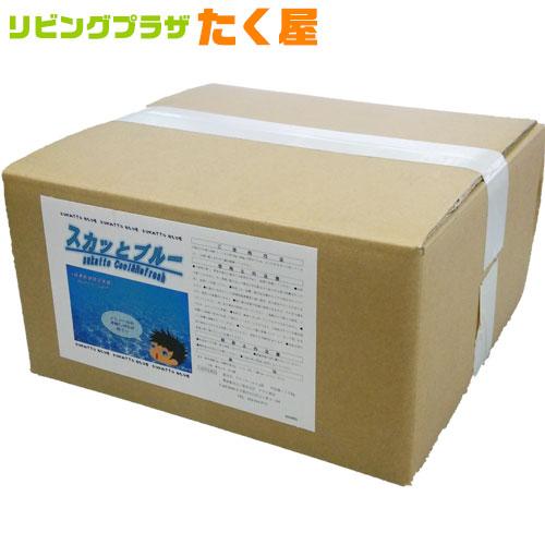 送料無料 / アサヒ商会 スカッとブルー 入浴化粧品 入浴剤 10kg 業務用で製造されているのでコストパフォーマンスがよい!約800日分 250Lに対して12.5g使用目処