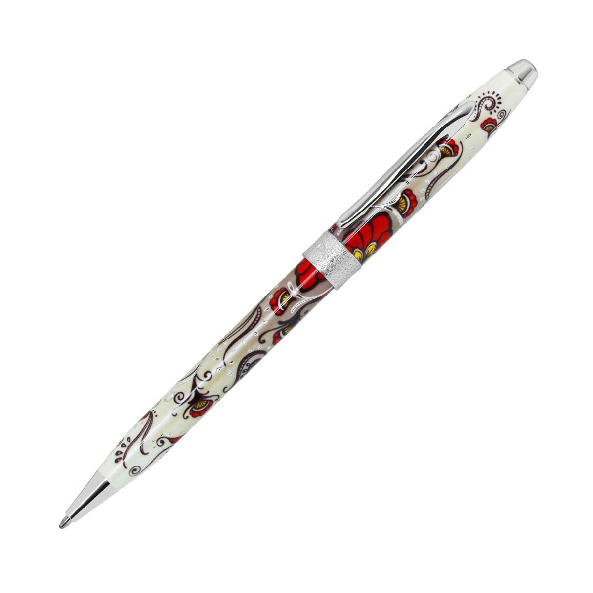 【お取り寄せ】クロス(CROSS) ボタニカ レッド ボールペン AT0642-3