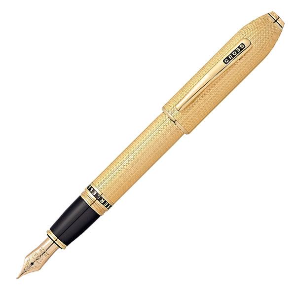 【お取り寄せ】クロス(CROSS) ピアレス125 23金ヘビーゴールドプレート 万年筆