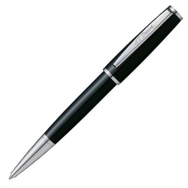 【即納可能】デュポン(S.T.Dupont) SaintMichel ブラック ラッカー & パラクローム ボールペン 440130