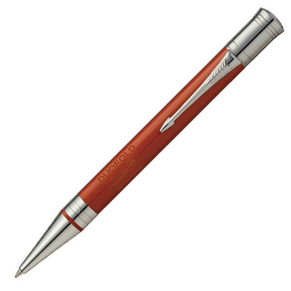 【お取り寄せ】パーカー(PARKER) デュオフォールド クラシック ビッグレッドCT ボールペン 1931379