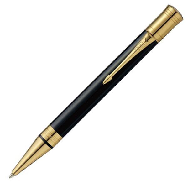 【お取り寄せ】パーカー(PARKER) デュオフォールド クラシック ブラックGT ボールペン 1931386