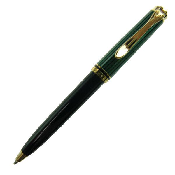 【お取り寄せ】ペリカン(Pelikan) スーベレーン K300 グリーン縞 ボールペン K300