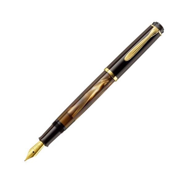 【お取り寄せ】ペリカン(Pelikan) クラシック M200 マーブルブラウン 万年筆