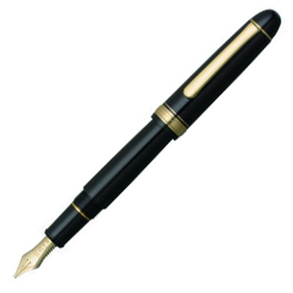 【お取り寄せ】プラチナ萬年筆(PLATINUM) #3776 センチュリーミュージック #1 ブラックインブラック PNBM-20000 万年筆