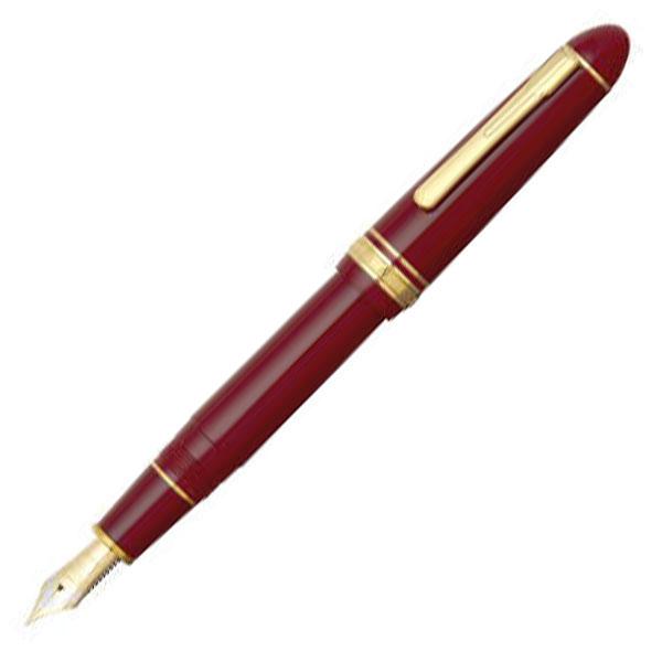 【お取り寄せ】プラチナ萬年筆(PLATINUM) プレジデント #10 ワインレッド PTB-20000P 万年筆
