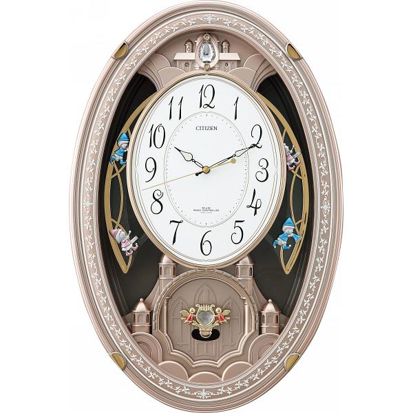 シチズン メロディ電波掛時計(30曲入)新築祝い 新居 結婚祝い 就職祝い お祝い 引越し 昇進 金婚式 写真入り メッセージカード ギフト (SD)