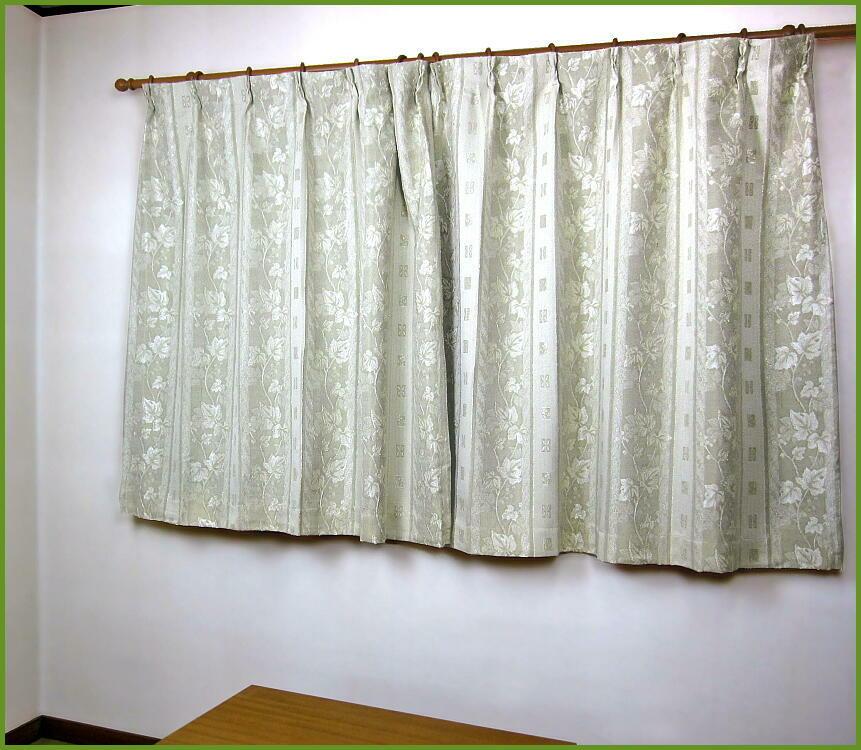 【 二重 遮光 オーダー カーテン 150×226~250cm(2枚組) 】 ブローリー 豪華 ジャカード織り Jサイズ(2枚セット) [ジャガード シック 掃き出し窓 大窓 セミオーダー] 掃除 模様替え