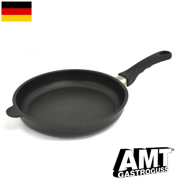 AMT フライパン 26cm ガス火用 PFOAフリー ドイツ製 5層構造 ノンスティック加工 くっつかない 高耐久性フッ素加工 ワールドベストパン インポート 料理オリンピック 鋳物 鋳造 ハンドキャストアルミニウム