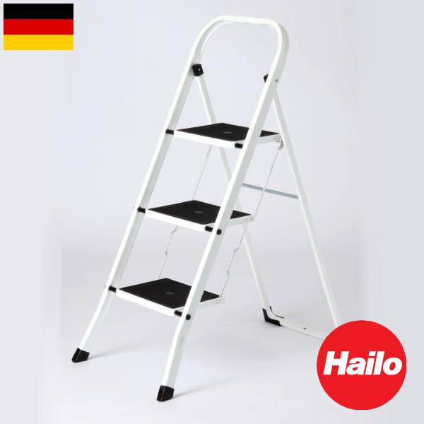 Hailo K20 3段ハイロ 脚立 ステップ ドイツ 輸入雑貨 おしゃれ