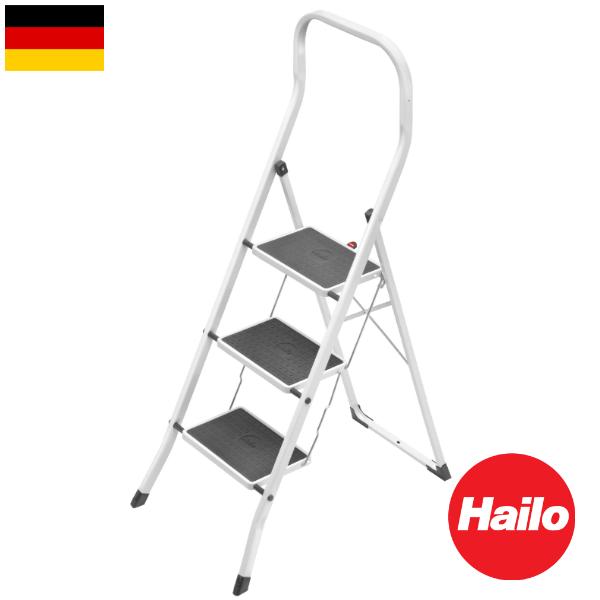 Hailo セイフティー 3段ハイロ 脚立 ステップ ドイツ 輸入雑貨 おしゃれ