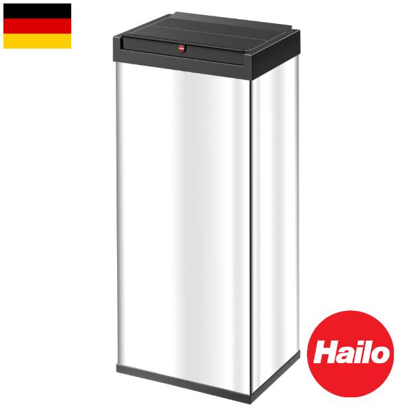 Hailo ニュービッグボックス ステンレス 60リットル ハイロ ゴミ箱 ダストボックス フタ付き 輸入雑貨 おしゃれ インテリア インポート ドイツ製
