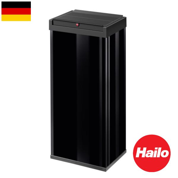 Hailo ニュービッグボックス ブラック ホワイト 60リットル ハイロ ゴミ箱 ダストボックス フタ付き 輸入雑貨 おしゃれ インテリア インポート ドイツ製