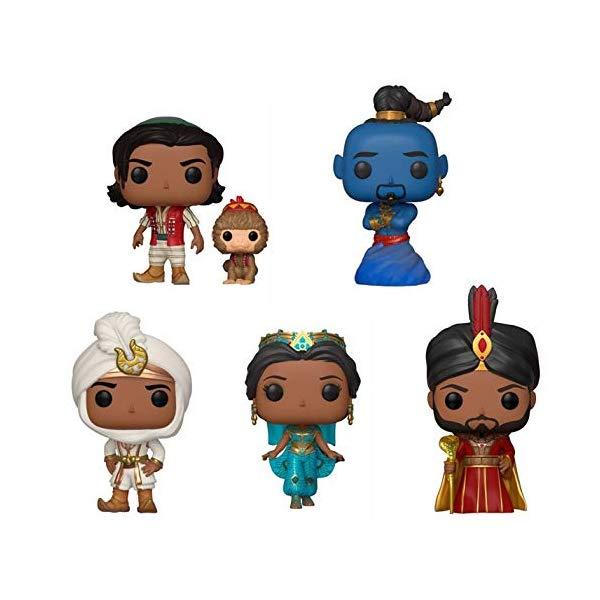 アラジン グッズ ファンコ ポップ ディズニー フィギュア ドール 人形 おもちゃ Funko Pop! Disney: Aladdin Live Action Collectible Vinyl Figures, 3.75