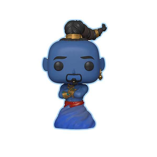 アラジン グッズ ジーニー ファンコ ポップ ディズニー フィギュア ドール 人形 おもちゃ Funko Pop Disney: Aladdin Live Action - Genie (Glow in The Dark) Amazon Exclusive (Renewed)