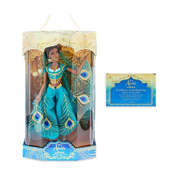 アラジン グッズ ジャスミン ディズニー フィギュア ドール 人形 おもちゃ doll Jasmine Limited Edition Aladdin - Live Action Film - 17''