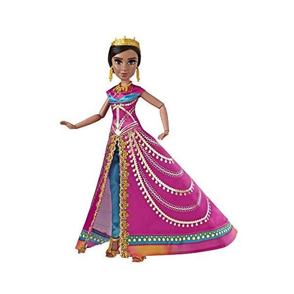 アラジン グッズ ジャスミン 実写版 ディズニー フィギュア ドール 人形 おもちゃ Disney Aladdin Glamorous Jasmine Deluxe Fashion Doll with Gown, Shoes, & Accessories, Inspired by Disney's Live-Action Movie, Toy for Kids & Collectors