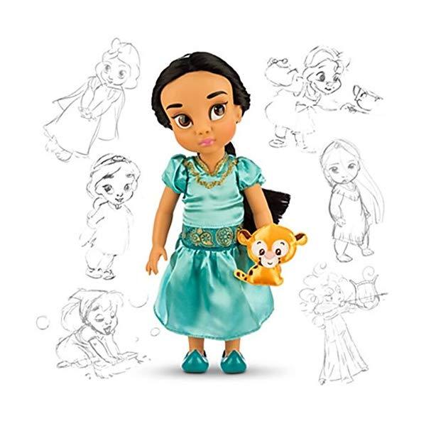アラジン グッズ ジャスミン アニメータードール ディズニー フィギュア ドール 人形 おもちゃ Disney Store Holiday Animators Jasmine with Raja Doll