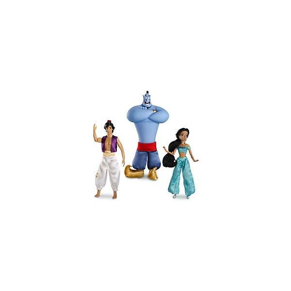 アラジン グッズ ジーニー ジャスミン セット ディズニー フィギュア ドール 人形 おもちゃ Disney Aladdin Classic Doll Set - Jasmine Aladdin & Genie