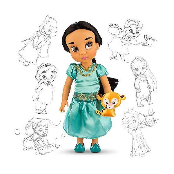 アラジン グッズ ジャスミン ディズニー フィギュア ドール 人形 おもちゃ Disney Animators' Collection Jasmine Doll - 16 Inch