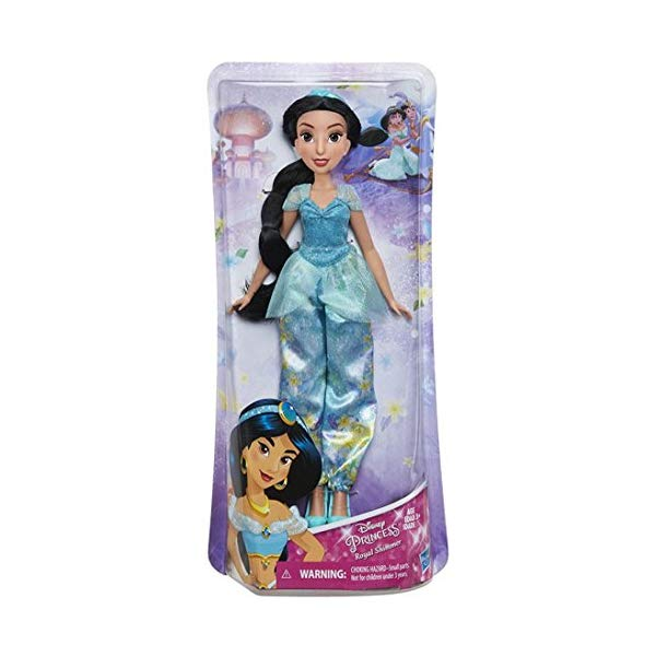 アラジン グッズ ジャスミン ディズニー フィギュア ドール 人形 おもちゃ Disney Princess Aladdin Royal Shimmer Jasmine 11-Inch Doll [2018]