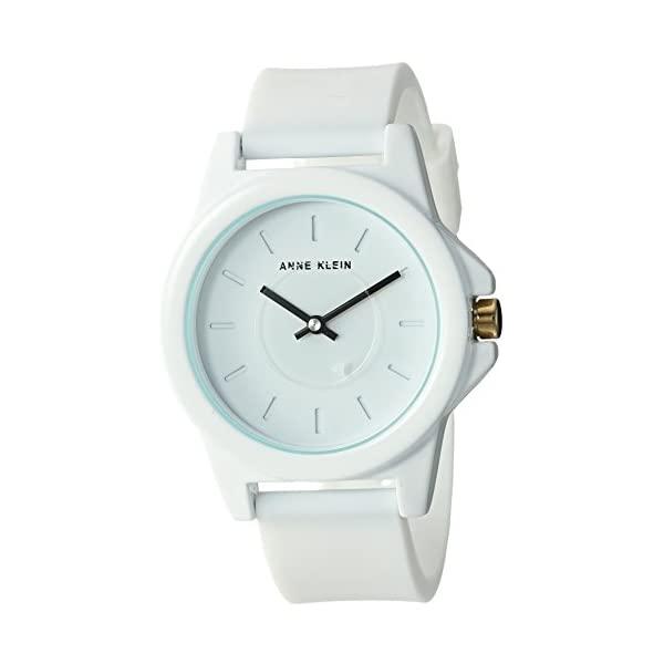 アンクライン 出色 Anne Klein 腕時計 ウォッチ 返品送料無料 時計 Silicone Women's Watch 女性用 Strap レディース