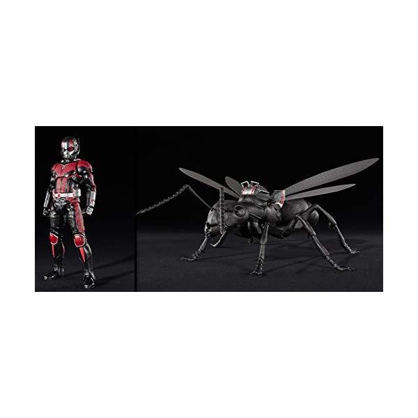 アントマン ワスプ マーベル フィギュア 人形 Tamashii Nations S.H. Figuarts Ant-Man & Ant Set Ant-Man And The Wasp