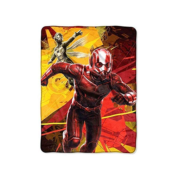 アントマン 子供 子供 ブランケット 毛布 Size (117×147) Ant-Man Ant-Man Children's Blanket, Throw Blanket, Super Plush Throw Soft, Warm and Cuddly, Size 46