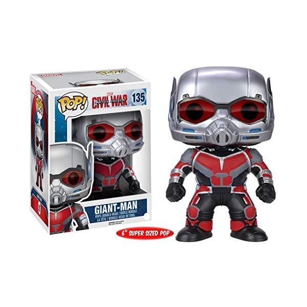 ファンコ アントマン ジャイアントマン ファンコ ポップ シビルウォー マーベル フィギュア 人形 FunKo POP Marvel: Captain America 3: Civil War Giant Man Action Figure, 6-Inch