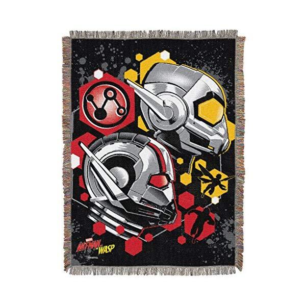 アントマン ワスプ マーベル ブランケット 毛布 Marvel Ant-Man & Wasp Throw Blanket, Multicolor