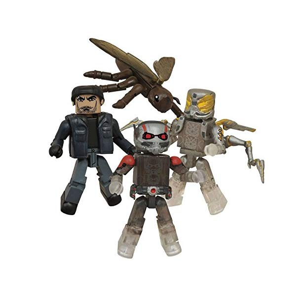 アントマン マーベル フィギュア 人形 セット Marvel Ant-Man Minimates Box Set - San Diego Comic-Con 2015 Exclusive by Diamond Select