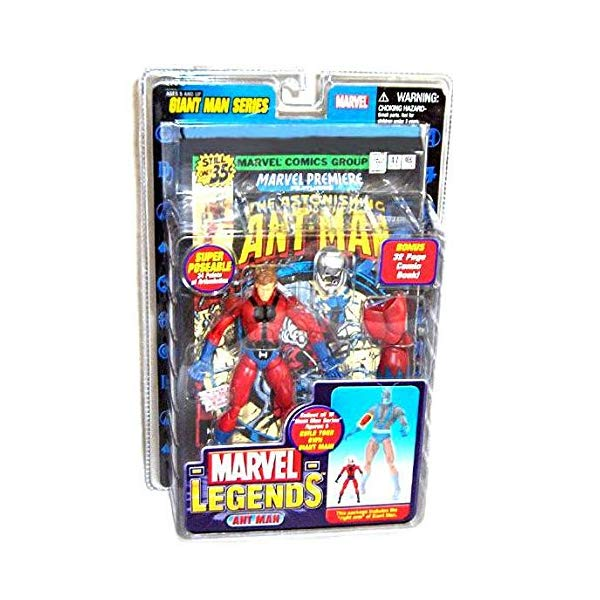 マーベル アントマン フィギュア 人形 ant man Marvel Legends Exclusive Series Action Figure with Giant Man Builder Piece