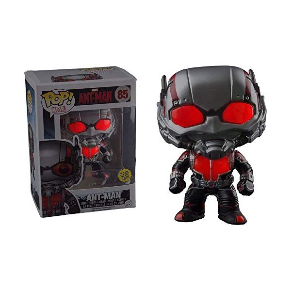 アントマン ファンコ ポップ マーベル Funko - Figurine Marvel - Ant-Man Glow in the Dark Exclu Pop 10cm - 0849803056186