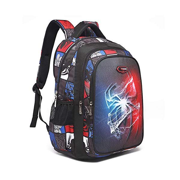 スパイダーマン マーベル リュック バックパック バッグ YOURNELO Boy's Leisure Marvel DC Comics Travel Rucksack Backpack Bookbag (Spider Man)